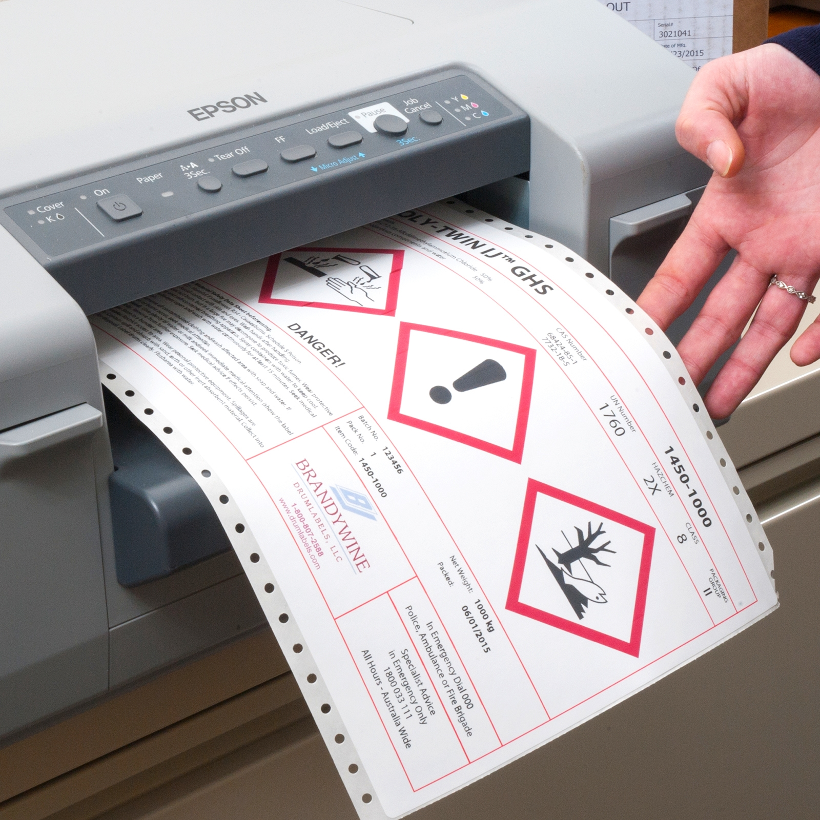 Brandywine can recommend business printers for in-house, on-demand use specific to your unique needs.