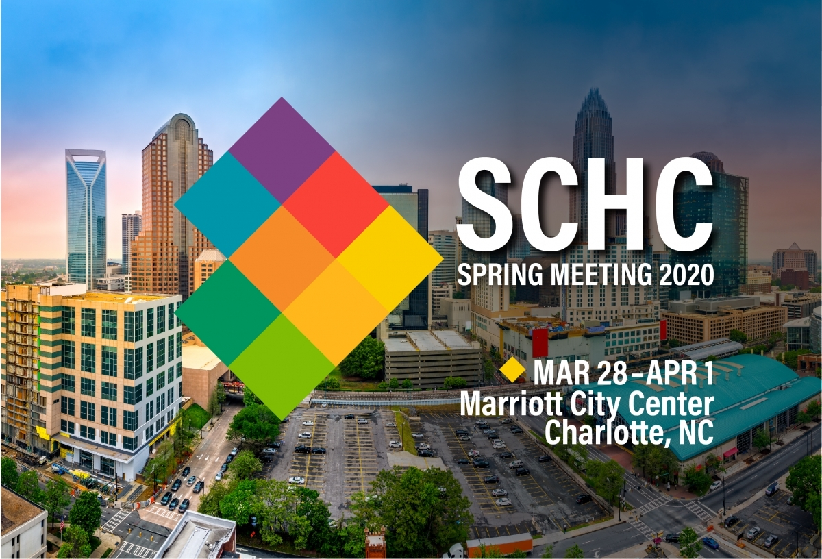 Charlotte, NC is home to the 2020 SCHC Spring Meeting