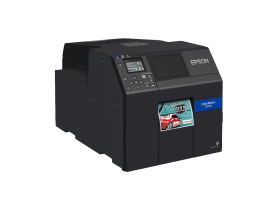 "ColorWorks C6000 Color Label Printer with 4"" width labels"