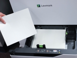 Sheet-fed laser and inkjet printers are very versatile, with the ability to print large and small label sizes for many different container sizes.