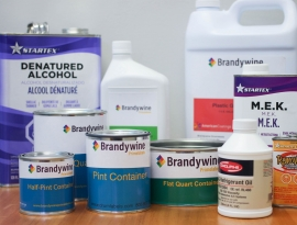 Different Labels including Household Products