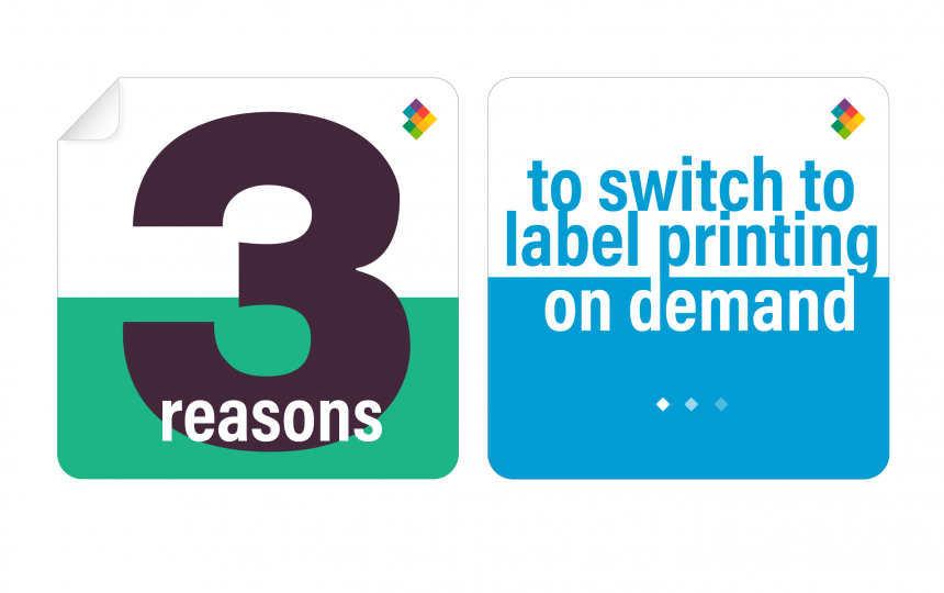 3 Reasons to Switch to Printing Labels on Demand