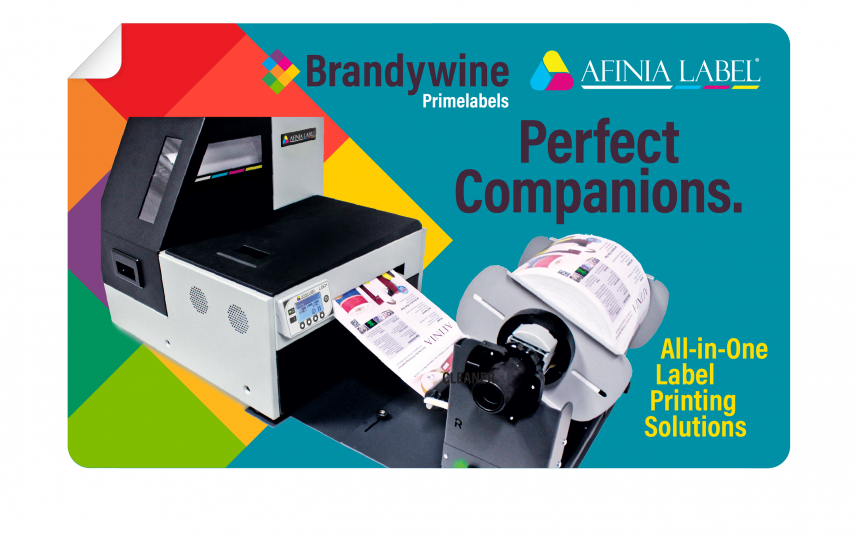Brandywine partners with Afinia, making us your complete supplier for on-demand labeling