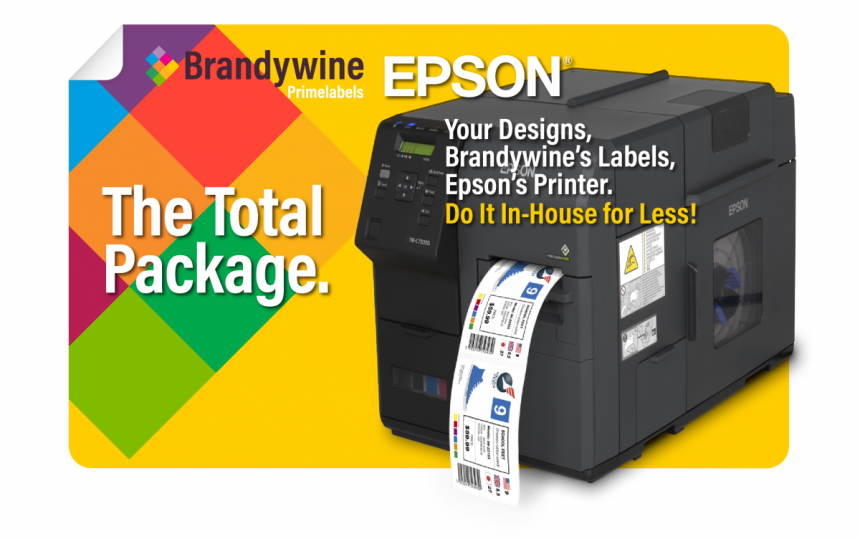 Print In-House for Less with Brandywine Labels and Epson Printers